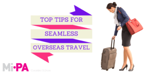 overseas travel